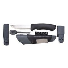 Нож Mora Bushcraft Survival (11835) стальной разделочный лезв.109мм прямая заточка черный