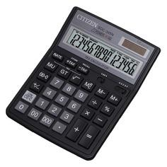 Калькулятор CITIZEN SDC-395 N, 16-разрядный, черный
