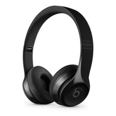 Наушники с микрофоном BEATS Solo3, 3.5 мм/Bluetooth, накладные, черный глянец [mnen2ee/a]