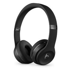 Наушники с микрофоном BEATS Solo3, 3.5 мм/Bluetooth, накладные, черный матовый [mp582ee/a]