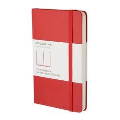 Блокнот Moleskine CLASSIC Large 130х210мм 240стр. нелинованный твердая обложка красный 6 шт./кор.