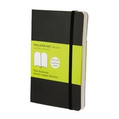 Блокнот Moleskine CLASSIC SOFT Pocket 90x140мм 192стр. нелинованный мягкая обложка черный 9 шт./кор.