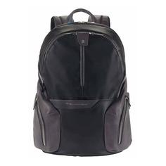Рюкзак унисекс Piquadro Coleos CA2943OS/N черный натур./искуст. кожа