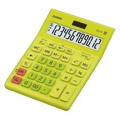 Калькулятор CASIO GR-12C-GN, 12-разрядный, салатовый