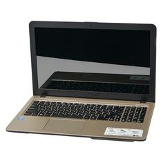 """Ноутбук ASUS VivoBook A540LA-XX1214, 15.6"""", Intel Core i3 5005U 2.0ГГц, 4Гб, 500Гб, Intel HD Graphics 5500, Endless, 90NB0B01-M27810, черный"""