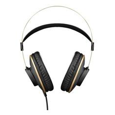 Наушники AKG K92, 3.5 мм/6.3 мм, мониторы, черный/золотистый [3169h00030]