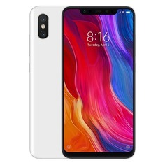 Смартфон XIAOMI Mi 8 64Gb, белый