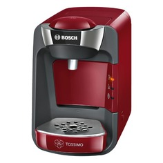Капсульная кофеварка BOSCH Tassimo TAS3203, 1300Вт, цвет: красный