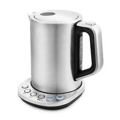 Чайник электрический KITFORT КТ-638, 2200Вт, серебристый