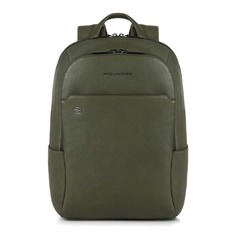 Рюкзак унисекс Piquadro Black Square CA3214B3/VE зеленый натур.кожа