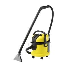 Моющий пылесос KARCHER SE4002, 1400Вт, желтый/черный