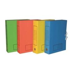 Короб архивный Бюрократ ККА-100З микрогофрокартон корешок 100мм A4 340x255x100мм зеленый 50 шт./кор.