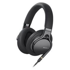 Наушники с микрофоном SONY MDR-1AM2, 3.5 мм, накладные, черный [mdr1am2b.e]