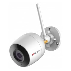 Видеокамера IP HIKVISION HiWatch DS-I250W, 1080p, 4 мм, белый