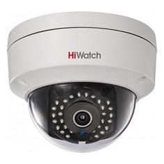 Видеокамера IP HIKVISION HiWatch DS-I122, 12 мм, белый