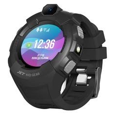 """Смарт-часы JET Kid Gear, 50мм, 1.44"""", черный / серый [gear grey+black]"""
