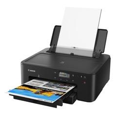 Принтер струйный CANON Pixma TS704, струйный, цвет: черный [3109c007]