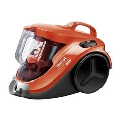 Пылесос TEFAL TW3724RA, 750Вт, черный/оранжевый