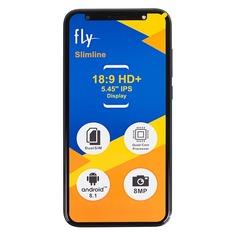 Смартфон FLY Slimline 8Gb, синий