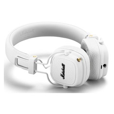 Наушники с микрофоном MARSHALL Major III, 3.5 мм/Bluetooth, накладные, белый