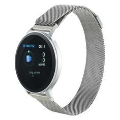 """Смарт-часы CANYON CNS-SW71SS, 1.22"""", серебристый / серебристый [ds1cnssw71ss]"""