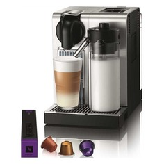 Капсульная кофеварка DELONGHI Nespresso Latissima EN 750.MB Pro, 1400Вт, цвет: серебристый [0132192223] Delonghi