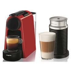 Капсульная кофеварка DELONGHI Nespresso Essenza mini Bundle EN85.RAE, 1260Вт, цвет: красный [0132191664] Delonghi