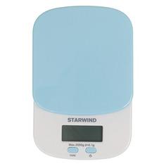 Весы кухонные STARWIND SSK2156, голубой