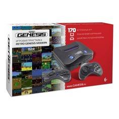 Игровая консоль RETRO GENESIS Modern 170 игр, черный