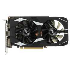 Видеокарта ASUS nVidia GeForce GTX 1660TI , DUAL-GTX1660TI-O6G, 6Гб, GDDR6, OC, Ret