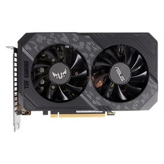 Видеокарта ASUS nVidia GeForce GTX 1660 , TUF-GTX1660-O6G-GAMING, 6ГБ, GDDR5, OC, Ret