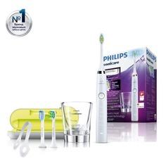 Электрическая зубная щетка PHILIPS Sonicare DiamondClean HX9332/35 белый