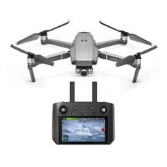 Квадрокоптер DJI Mavic 2 Zoom Smart Controller с камерой, серый