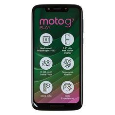 Смартфон MOTOROLA G7 Play 32Gb, XT1952-1, темно-синий