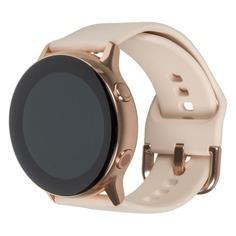 """Смарт-часы SAMSUNG Galaxy Watch Active, 39.5мм, 1.1"""", розовое золото / розовое золото [sm-r500nzdaser]"""