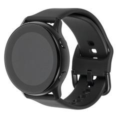 """Смарт-часы SAMSUNG Galaxy Watch Active, 39.5мм, 1.1"""", черный / черный [sm-r500nzkaser]"""