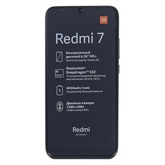Смартфон XIAOMI Redmi 7 64Gb, черный