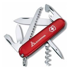 Складной нож VICTORINOX Camper Camping, 13 функций, 91мм, красный