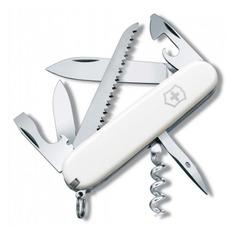Складной нож VICTORINOX Camper, 13 функций, 91мм, белый
