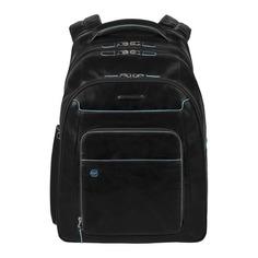 Рюкзак унисекс Piquadro Blue Square CA1813B2/N черный натур.кожа