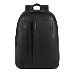 Рюкзак унисекс Piquadro Pulse CA3869P15/N черный натур.кожа
