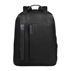Рюкзак унисекс Piquadro Pulse CA3349P15/N черный натур.кожа