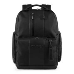 Рюкзак мужской Piquadro Brief CA4439BRBM/N черный натур.кожа/ткань