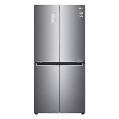Холодильник LG GC-B22FTMPL, трехкамерный, серебристый