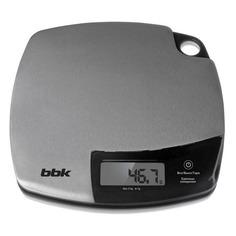 Весы кухонные BBK KS153M, серебристый