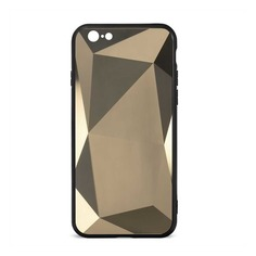Чехол (клип-кейс) GRESSO Даймонд, для Apple iPhone 6/6S, золотистый [gr17dmn023]
