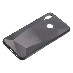 Чехол (клип-кейс) GRESSO Gresso Даймонд, для Huawei Honor 10 Lite, черный [gr17dmn020]