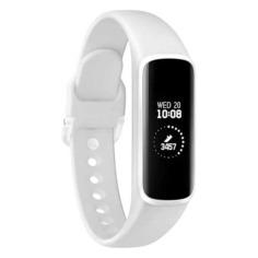 """Смарт-часы SAMSUNG Galaxy Fit-e, 0.74"""", белый / белый [sm-r375nzwaser]"""
