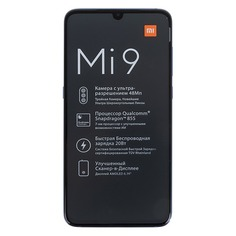 Смартфон XIAOMI Mi 9 64Gb, синий