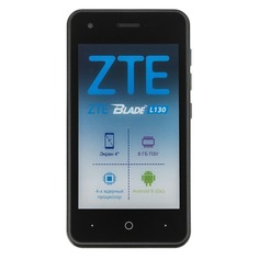 Смартфон ZTE L130 8Gb, черный